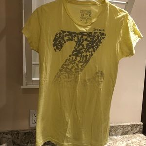 Zoo York Yellow Tee Shirt with Silvery Gray Zs